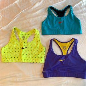 Nike Pro Dry Fit sports bras